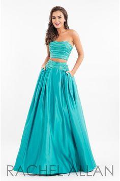 Rachel Allan 7525 Jade Two Piece Prom Dress