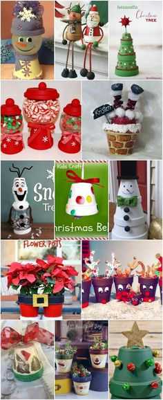 20 DIY Clay Pot Christmas Decorations That Add Charm To Your Holiday Décor 20 DIY Clay Pot Christmas Decorations That Add Charm To Your Holiday Décor noel fait main Diy Christmas Crafts To Sell, Christmas Clay, Indoor Christmas Decorations, Diy Christmas Ornaments, Homemade Christmas, Christmas Projects, Holiday Crafts, Diy Crafts To Sell, Sell Diy