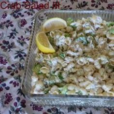 salad iii, seafood, yum, carrots, crab salad, iii allrecipescom, salads, crabs