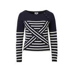 #Tommy #Hilfiger #GiGi #Technical #sweater #tech #technicalsweater #trend #model jersey #marine #tailor #stripes #blue #white #cross #wehkamp #now #newfashion #shoponline #new