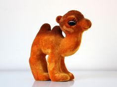 Vintage russian soft toy CAMEL from Soviet Unions 70s