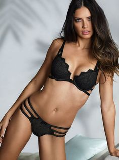 Adriana Lima for Donna Karan, S/S 2014.
