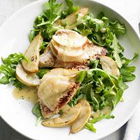 Turkey, Pear, and Cheese Salad - mmmm!