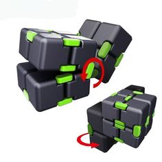 Infinity Cube 2 Metal High-Quality EDC Creative Fidget Cube Toy Anti-Stress Relief Hand Spinner Adult ADHD After the fidget spinner comes the Infinity fidget cube. The Infinity Metal Fidget Cube is a type of sensory-regulation to. Cubes, Cube Toy, Stress Relief Toys, Fidget Toys, Hand Spinner, Anti Stress, Child Love, Cool Gadgets, Toys
