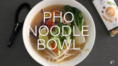 Finally you can now make Pho easily at home with wholesome real ingredients and one convenient broth mix. Healthy Dinner Sides, Easy Healthy Dinners, Easy Healthy Recipes, Yummy Recipes, Epicure Recipes, Soup Recipes, Good Food, Yummy Food, Clean Eating