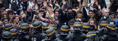 Así ha sido la violenta jornada de protesta contra la reforma laboral en Francia