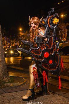 La cosplayeuse SxyBlood en Alundra Sin'Dorei' TimeWalker du jeu de cartes World of Warcraft Découvrez sa page => https://www.facebook.com/SxyBlood Découvrez son site => http://sxyblood.weebly.com/