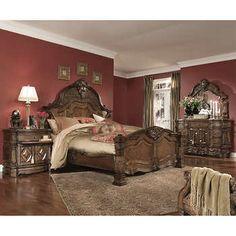 Alden Park 6Piece Cal King Bedroom Set  All Things Furniture Custom Cal King Bedroom Sets Decorating Design