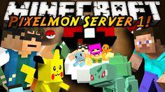 Minecraft Pixelmon Server : THE SERIES BEGINS! (+playlist)