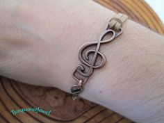 Suede Leather Bracelet in Available 11 Colors, UNISEX, Music Note Charm, Boho wrap bracelet, Personalized Cuff bracelet by TurquoiseJewel on Etsy