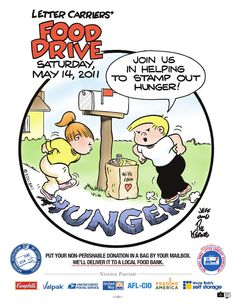 2011 Food Drive poster