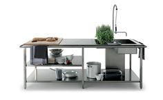 Cucina moderna e professionale Work Station   Elmar Cucine