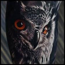Znalezione obrazy dla zapytania owl tattoo