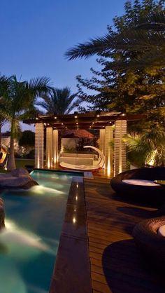 Luxury backyards archives - page 5 of 10 - luxury decor gardens дом, идеи д Luxury Swimming Pools, Luxury Pools, Zen, Villa, Luxury Homes Dream Houses, Beautiful Pools, Luxury Decor, Luxury Interior, Interior Design
