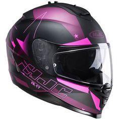 HJC casque moto intégral polycarbonate IS17 ARMADA MC-8F femme
