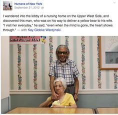 "The 19 Most Heartfelt And Inspiring ""Humans of New York"" Portraits From The Last 4 Years. - InspireMore"