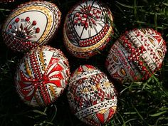 Easter Eggs, Wax, Arts And Crafts, Traditional, Romania, Art And Craft, Laundry, Art Crafts, Crafting