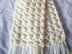 Схема для вязания шарфика