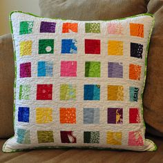 Colorblock Pillow