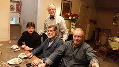 En de heren  Jean, Robert en Ronny
