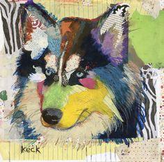 Michel Keck, pop dog art