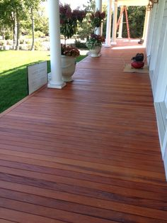 Click here to learn more about #Mahogany #hardwood and how it is being used for outdoor decks, #docks, boardwalks and piers. #Toronto #Ontario
