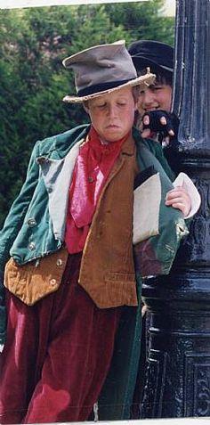 HAT DODGY VICTORIAN BOY FANCY DRESS COSTUME ARTFUL DODGER OLIVER TWIST OUTFIT