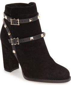 56d442d32f9e Valentino  Rockstud  Bootie (Women) Valentino Boots