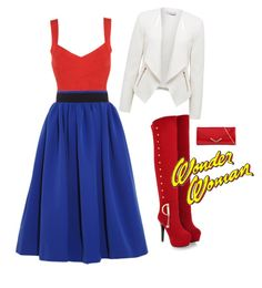 Wonder Woman inspired outfit