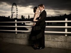 Damian Lewis and wife for British Vogue by House Of Retouching