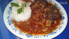 Karpatská roštenka (fotorecept) Pork, Beef, Red Peppers, Kale Stir Fry, Meat, Pork Chops, Steak