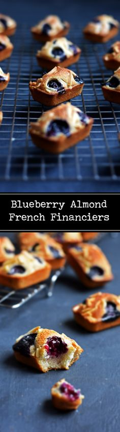 A lightly crisp top, a moist center and a subtle nuttiness are what make financiers a refined French staple. With seasonal berries and crisp almond slivers, the Blueberry Almond Financiers are one of their iconic summer twists.