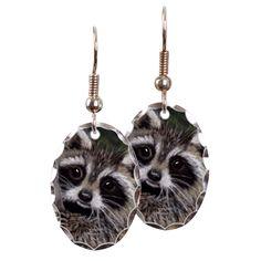 Raccoon Earring