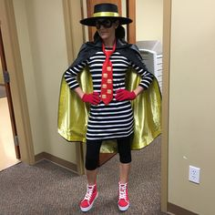 my diy hamburglar halloween costume and i won the work costume contest with it hamburglar diy halloween costume womenscostumes