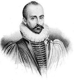 Michel de Montaigne, filósofo, escritor y moralista francés (1533-1592)