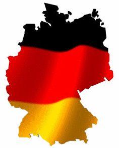 les couleurs du drapeau de l'allemagne avec la forme de son pays - Blog de…