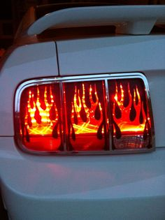 This is a set of six decals to do the passenger and driver side tail light lenses Flaming Tail Light Covers for Mustang Installation instructions included Available in Gloss Black or Matte Black My Dream Car, Dream Cars, 2005 Mustang Gt, Ford Lincoln Mercury, Thing 1, Ford Mustangs, Pony Car, Light Covers, Custom Decals