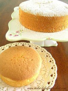 Light and Fluffy Chiffon Cake