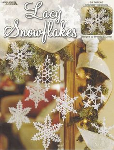 35 Snowflakes Crochet Patterns - Thread Crochet Designs