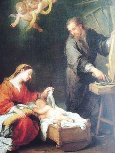 Bartolomé Esteban Murillo: Sagrada familia, 1670.   Chatsworth, Reino Unido.