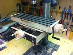 Kreuztisch für Ständerbohrmaschine Bauanleitung zum selber bauen