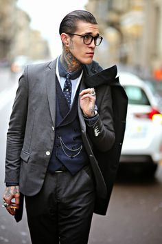 MenStyle1- Men's Style Blog - Mens glasses style FOLLOW for more pictures. ...
