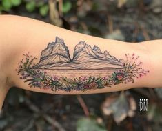 "5,675 Likes, 36 Comments - LONE WOLF (@dinonemec) on Instagram: ""Torres del Paine for Sam from Philly -thank you so much for letting me draw on you! #freehand…"""
