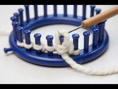 Loom Knitting: Wrap & Turn (w&t) - YouTube