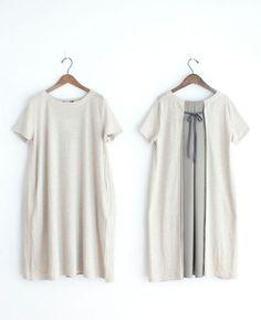 Le pivot linen cloth one piece