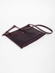 SLOW OIL HARNESS SHOULDER BAG - GENTRY NYC - 1