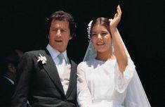Princess Caroline and Philippe Junot.