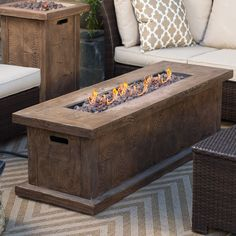 Red Ember Timberline 60 in. Gas Fire Pit Table with FREE Cover - Fire Pits at Hayneedle Easy Fire Pit, Fire Pits, Fire Pit Essentials, Gas Fire Pit Table, Free Cover, Fire Pit Backyard, Cool Diy, Home Remodeling, Outdoor Decor