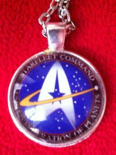 Colgante Starfleet Command   Club Star Trek de España