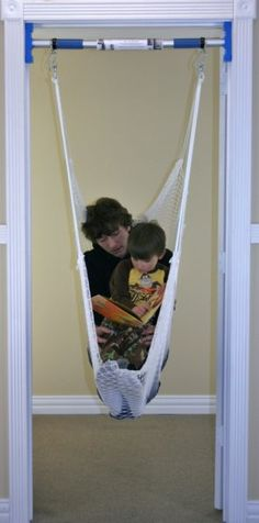 Support Bar for Rainy Day Indoor Swing - Doorway Swing Bar